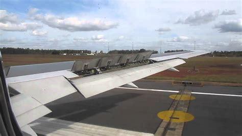 aborted take off abort qantas 767 aborted take off youtube