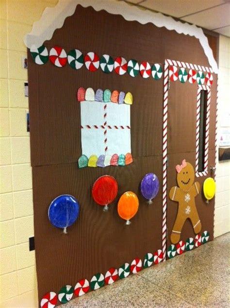 gingrbread house on school door 17 best images about gingerbread on gingerbread house gingerbread and