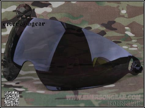 Helm Emerson Exf Bump Brown troy gt emersongear fast头盔用镜片