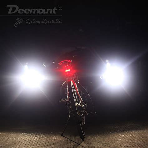 Pedal Sepeda Mtb Mountain Bike Rockbros Import Warna Titanium Gold deemount lu sepeda led taillight 120 lumens white jakartanotebook