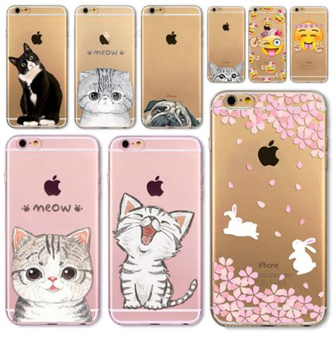 Cat Iphone 6 6s 7 8 X Plus iphone 8 soft cover lovely cat soft tpu cases for iphone 6