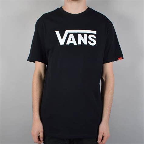 T Shirt Skate Vans vans classic skate t shirt black white skate clothing from skate store uk
