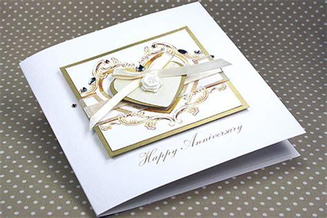 Handmade Cards Uk - handmade anniversary card quot special anniversary quot