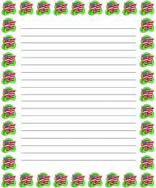 Free Writing Paper With Borders Lined Writing Paper With Border Galleryhip Com The