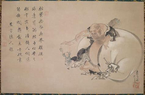 reclining lotus sutra katsushika hokusai 1760 1849 japaneseprints london