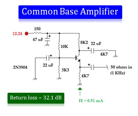 transistor lifier common base common base lifier 2 lifier circuit circuit diagram seekic