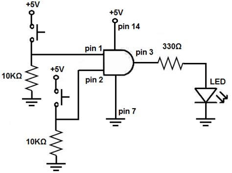 pull up resistor relay how to place connect a pull resistors on a chip 14core