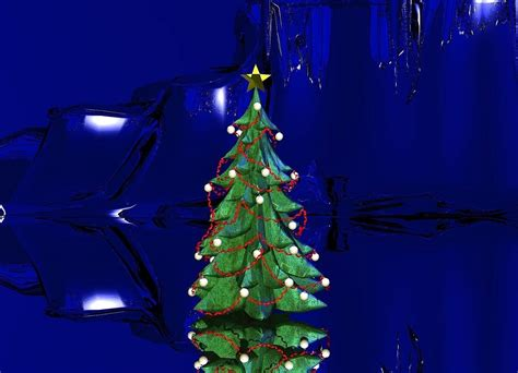 blue christmas by nheiges on wordseye