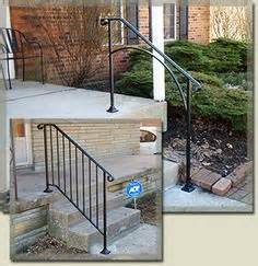 handrails for rs porch on iron railings porches and railings