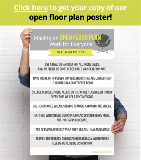 Making A Floor Plan by Seven Steps To Making An Open Plan Office Work Shari Harley