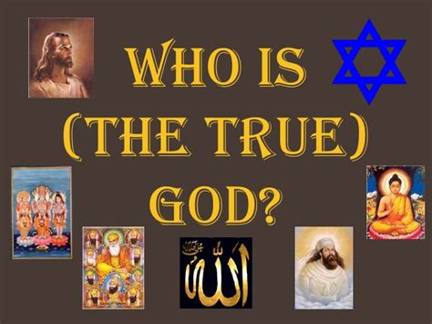 Is The Real by Who Is True God