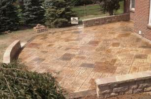 walkers concrete llc sted concrete patio sted
