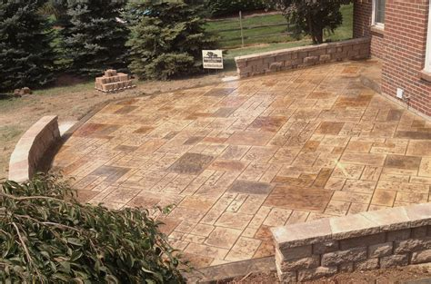 how much for concrete patio walkers concrete llc sted concrete patio sted concrete or decorative concrete is the