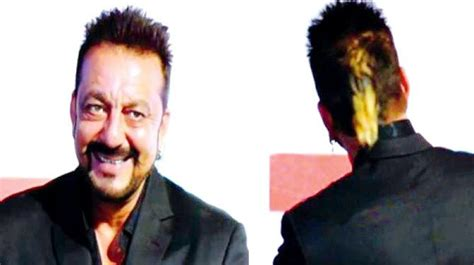 sanjay dutt long hair stayle sanjay dutt s sports a new golden ponytail photos images