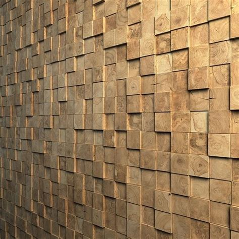 teak interior cladding  wall cgtrader