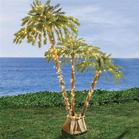 artificial lighted palm trees best fake palm trees with