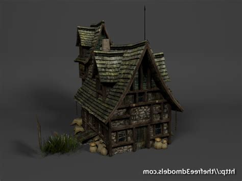 Free House Blueprints Download Freebies 3d Free Medieval House Free Free