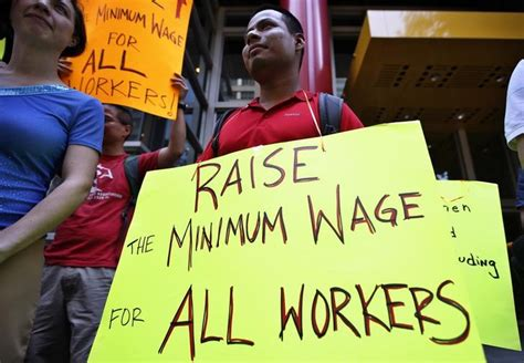 who works for minimum wage raising the minimum wage a policy conundrum