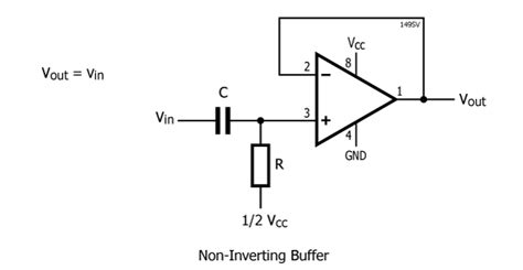op buffer with resistor designing with op s and single supplies stompville