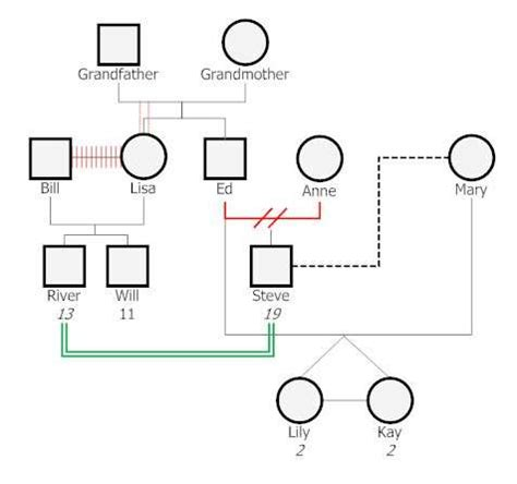 basic genogram template 10 free genogram templates exles xdesigns
