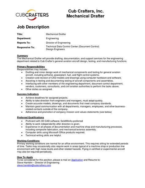 Mechanical Draftsman Sle Resume by Inspirational Piping Field Engineer Cover Letter Resume Daily