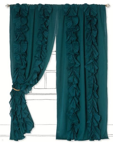 anthropologie wandering pleats curtains wandering pleats curtain turquoise contemporary