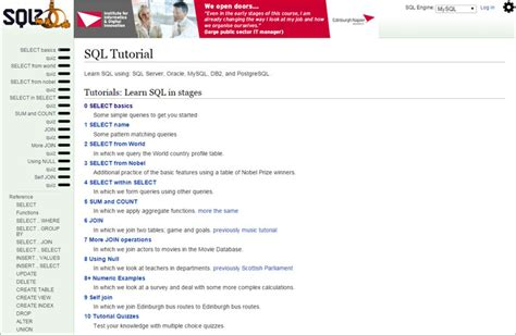 linux tutorial edx image gallery sql manual