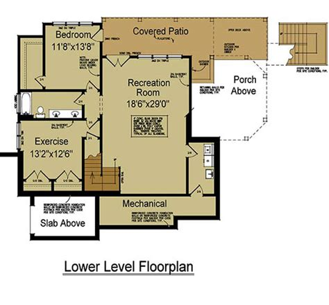 rustic cabin plans floor plans 4 bedroom rustic house plan with porches ridge cottage