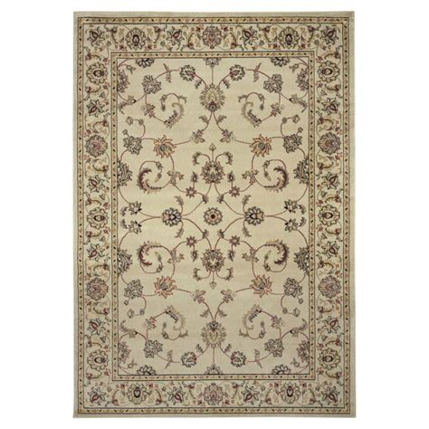 coaster rugs coaster 970183 chagne traditional area rug home furnishings and flooring