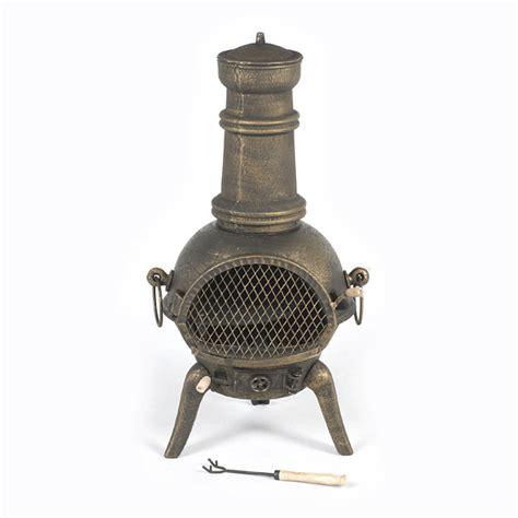 Cast Iron Chimera Terra Cast Iron Chiminea Bronze 90cm On Sale Fast