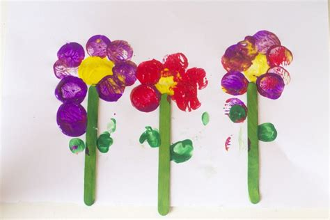 flower craft ideas for flower craft for with a twist process