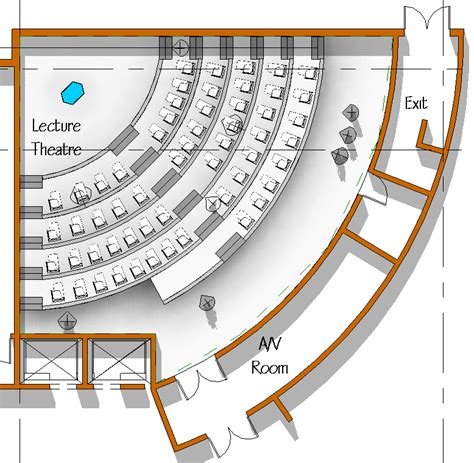 lecture theatre section revit rocks july 2011