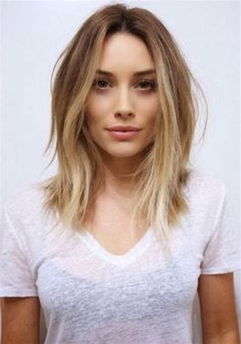popular medium length pinterest womens cuts popular medium length haircuts 2016