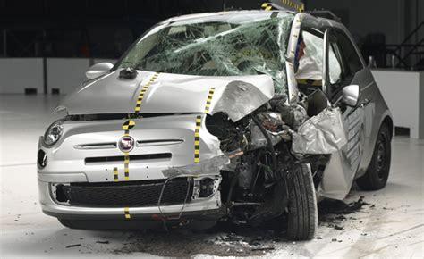 best of crash test city cars flunk iihs crash test honda fiat fare worst