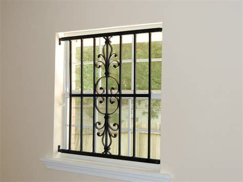 Window Bars Interior by Interior Window Guards Ktrdecor