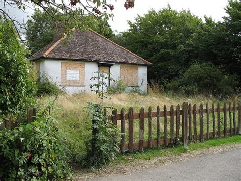 abandoned cottage pictures of woolmer green in