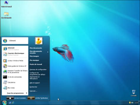 ecran noir bureau windows 7 pc astuces transformer windows xp et vista en windows 7