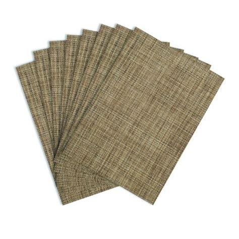 Woven Vinyl Placemats Wholesale Plastic by Benson Mills Tweed Woven Vinyl Placemats Set Of 8