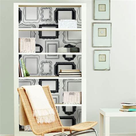 stick frames to wall nuwallpaper photo opp frames peel and stick wallpaper