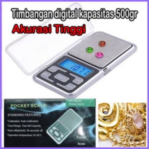 Timbangan Digital Pocket timbangan emas digital pocket scale 500g