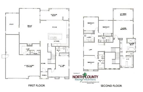 heritage collection at canyon grove floor plans north the estates at canyon grove floor plans north county new