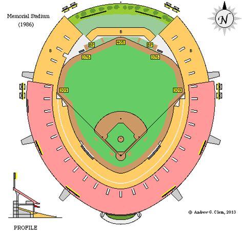 baltimore orioles memorial stadium seats clem s baseball memorial stadium