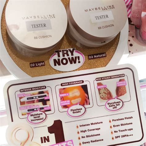 Bb Cushion Maybeline maybelline bb cushion new products