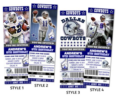 Dallas Cowboys Invitations Template Best Template Collection Dallas Cowboys Invitation Template