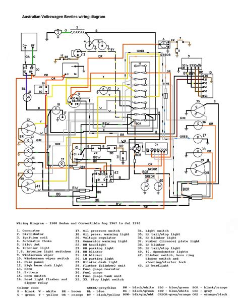 vw bug wiring diagram alfa romeo spider 1970 johnywheels