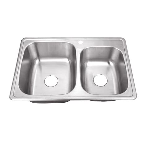 dayton stainless steel sinks dayton dxr250r1 stainless steel top mount bowl sink