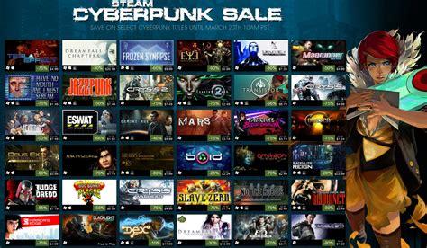 steam new year sale 2015 steam sale news cyberpunk week offering discounts on