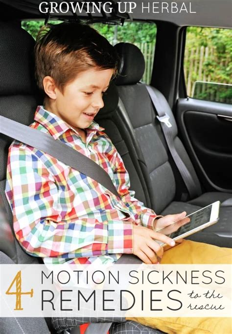 4 remedies for motion sickness wellness media