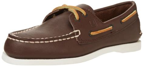 french toast jacob boys boat shoes sperry a o sperry top sider a o loafer brown leather us
