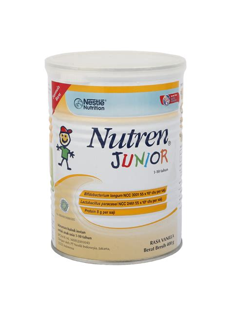 Kompor Optimum nestle bubuk nutren junior vanilla klg 400g